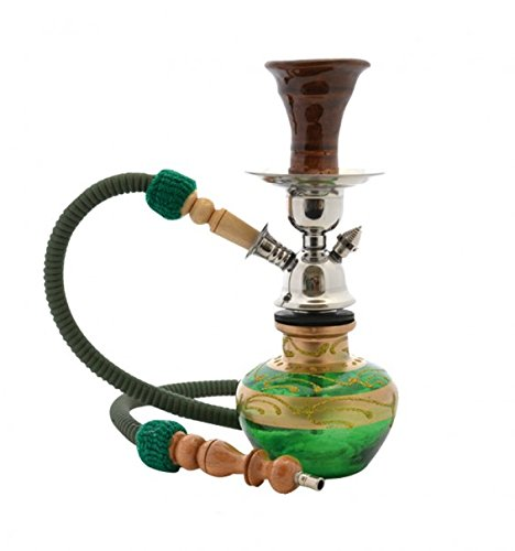 Top Mark - Shisha Mini Baby Verde 26 cm