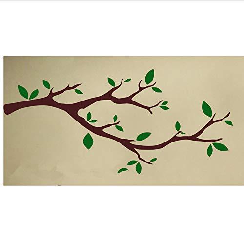 Lovemq Art Decor Little Part Baum Skurril Zweige Wandtattoos Nuesery Tree Kinder Schlafzimmer Kunst Wandbild Morden Stil Wandtattoos 60X20Cm