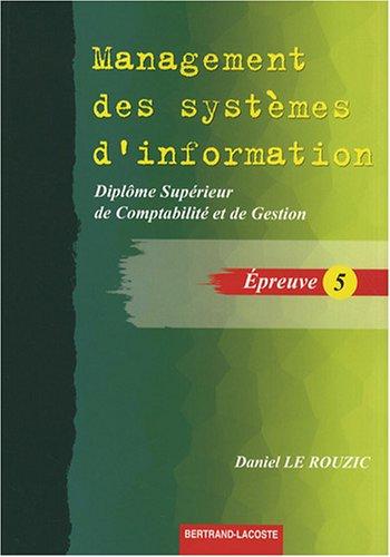Management des systèmes d'informati...