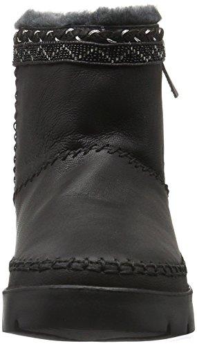 Laidback London Nyali, Bottes Classiques femme Noir - Cuir noirci