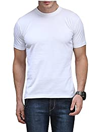 Scott Men's Basic Cotton Round Neck Half Sleeve T-shirt
