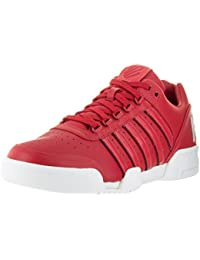 K-SWISS SHOE GSTAAD BIG LOGO RBN RED/WHITE Q1