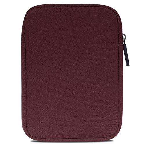 MoKo Kindle (6 Inch) Sleeve, Neoprene Cover Pouch Bag for Amazon Kindle Paperwhite / Kindle Voyage / Kindle 8th Generation(2016) / Kindle Oasis E-Reader (Wine Red)