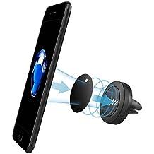 [Supporto Per auto] EasyAcc Air Vent Supporto Magnetico Auto Supporto Universale Per Prese d'aria Per iPhone 7/ 7 Plus/ 6/ 6 Plus, Samsung Galaxy S7/ S7 Edge/ S6/ S6 Edge/ A5/ A3, Huawei P9 Lite/ P8 Lite/ Honor, GPS Navigatori e altri dispositivi -- Nero