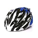 SJZC Helm Fahrradhelm Abus Fahrrad Damen Herren Casco Aktiv MTB Radhelm Uvex Helmet89,Blue,L