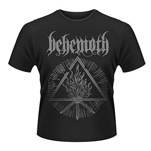 Behemoth Herren Furor Divinus T-Shirt, Schwarz, (Herstellergröße: Large) -