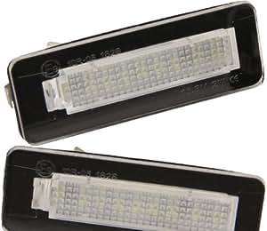 led smd nummernschild leuchte sehr helle wei e kennzeichen beleuchtung 7215 auto. Black Bedroom Furniture Sets. Home Design Ideas
