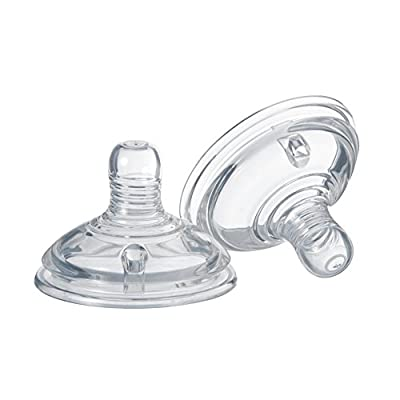 Tommee Tippee Closer To Nature Slow Flow Teats x 2