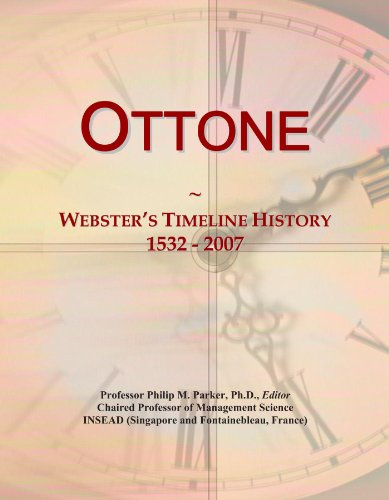 ottone-websters-timeline-history-1532-2007