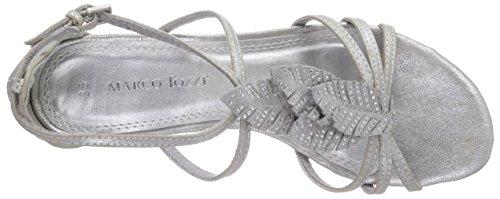 Marco Tozzi 28100, Sandales femme Argent (Silver Metal 926)