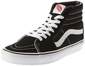 Vans Herren U SK8-HI High-Top Sneaker,Schwarz (Black), 43 EU