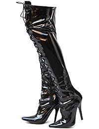 Cm Da 7 Scarpe Sexy Spillo Donna 4 Tacchi A Amazon it BgqZzn0