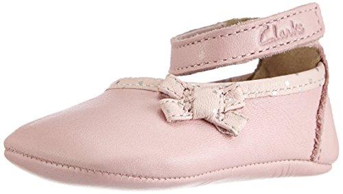 Clarks BabyHarper MED Baby Mädchen Krabbelschuhe Pink (Baby Pink Lea)