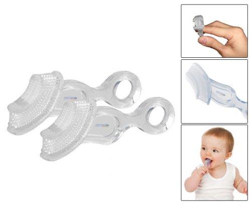 Preisvergleich Produktbild Mammoth XT Soft Chewable Baby Toothbrush & Teether - Pack of 2