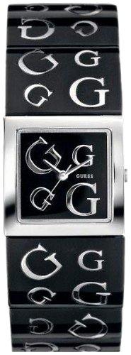 Guess 10102L1 - Reloj de pulsera para mujer, color blanco/plata
