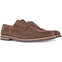 Zapatos Blucher Serraje Marron.47