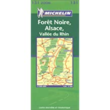 Carte routière : Forêt Noire, Alsace Vallée du Rhin