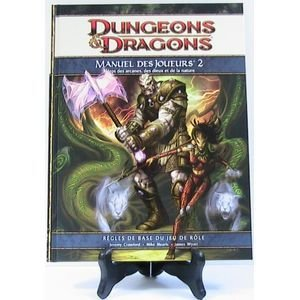 Play Factory - Dungeons & Dragons 4.0 : Manuel des Joueurs 2