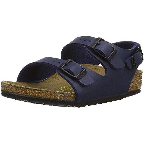 Birkenstock Roma - Sandali con Cinturino alla Caviglia Bambino Blue