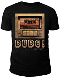 Marvel Comics - Guardians of the Galaxy Herren T-Shirt - Dude (Schwarz) (S-XL)