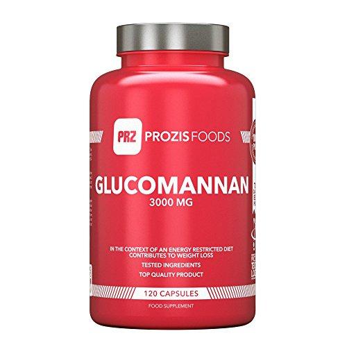 Glucomannane 3 000 mg 120 gélules