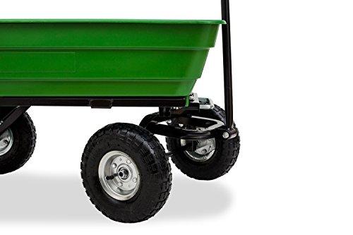 f8e5f9a507f79 Test JOM Gartenwagen mit Kippfunktion