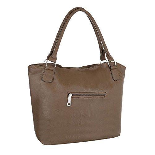 Taschen Tragetasche Schultertasche Modell Nr.1 Braun