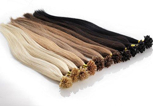 Echthaar Keratin / Bonding Extensions Frohlocke SALON PRO, Haarlänge 50cm, 1,0 Gramm / Strähne, 25 Strähnen Haarqualität: Virgin Remy - höchste Qualitätsstufe (660 - platin)