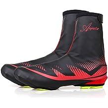 Shinmax Cubierta de Zapatos, Zapatillas de Ciclismo para Deportes al Aire Libre Zapatillas para Calzado Impermeable para Calzado Bota de Calzado para Hombre Mujer MTB Ciclismo para Bicicleta de Invierno Ciclismo Mountain Road Toe Cover