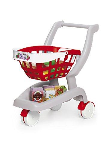 Chicos - 2 en 1 Mi primer carrito de supermercado
