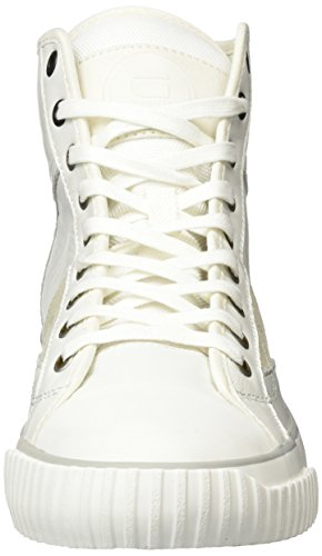 G-STAR RAW Herren Campus Scott Raw High Top Weiß (Bright White 1322)