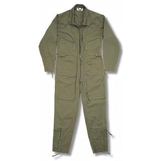 armyandoutdoors Continental Flight Suit/Boiler Suit (40, Olive)