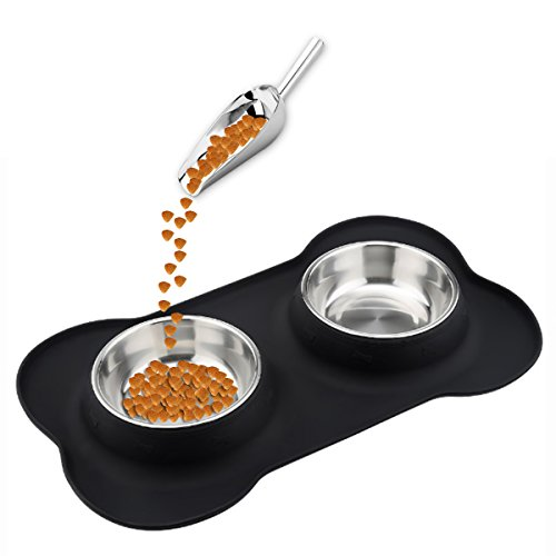 onarway Slow Feeder Dog Bowl – Slow Eating Dog Bowl – Interactive Feeder – Slow Down Feed Dog Cat Feeding Bowl – Pet Bloat Stop Dog B