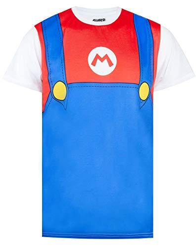 Super Mario Costume Mens T-Shirt (XXL)