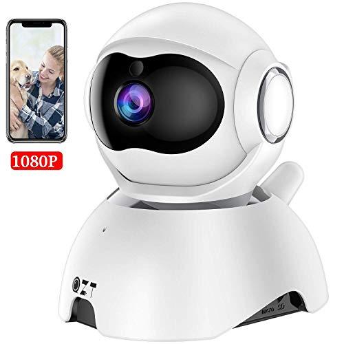 QZT IP Kamera, HD 1080P WLAN Überwachungskamera, Baby Monitor mit Bewegungserkennung, Nachtsicht, Zwei-Wege-Audio, Innen Überwachung Kamera mit App Kontrolle (YI IoT)