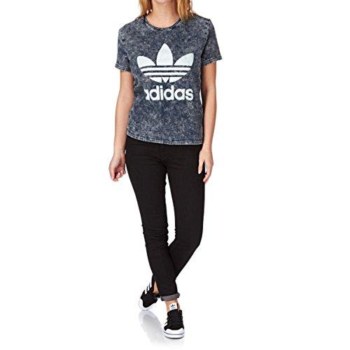 Adidas originals t-shirt–adidas originals de..., donna, mid vintage blue denim, 36