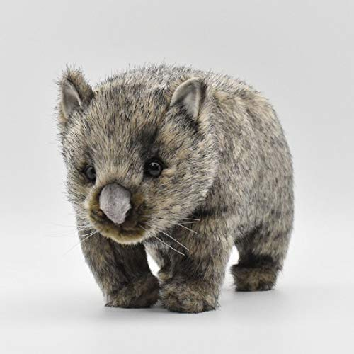 3249 - Hansa Toy - Wombat grau 26 cm