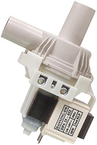 Price comparison product image Drain pump Miele short nozzle 958663