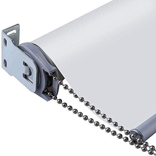Wandertaube isoliert 100% verdunkelnd Wasserdicht Stoff Custom Fenster Roller Shades Jalousien, Textil, weiß, 31