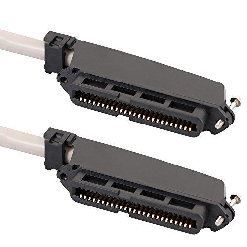ICC CAT3, 15ft 4.6M CAT3U/UTP (UTP) grau-Netzwerkkabel (15ft, 4,6m, CAT3, U/UTP (UTP), 50-Pin Telco, 50-Pin Telco, grau) - Telco-50-pin