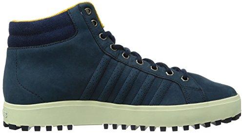 K-Swiss ADCOURT '72 BOOT~INSIGNIABLU/NVY/GLDNG~M, Baskets hautes homme Bleu - Blau (INSIGNIABLU/NVY/GLDNG/414)