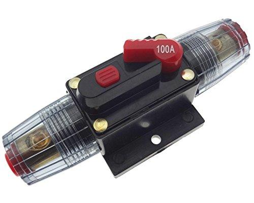 100A Sicherungsautomat Automat Abschalter Sicherung Auto KFZ Batterie 12 24 48V