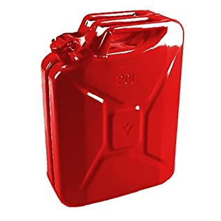 20 Litre Red Jerry Can for Fuel Petrol Diesel etc