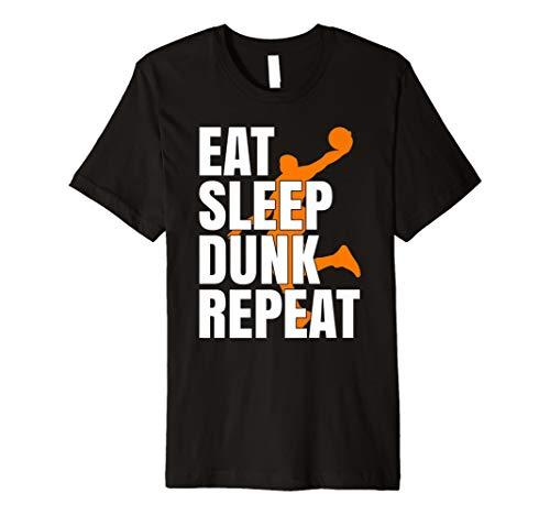 Eat Sleep Basketball Shirt I Basketballspieler Basketballer