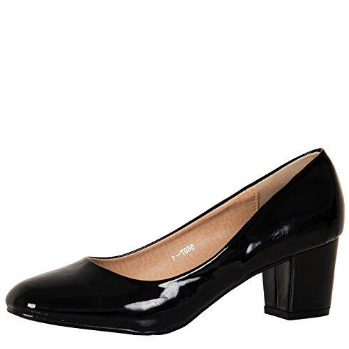 bypublicdemand-yvonne-womens-mid-block-heel-slip-on-smart-office-ladies-patent-court-shoes-black-pat