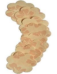 4 Paare Nippel Cover Brustwarzenabdeckung Blumen PS 04 von Julimex