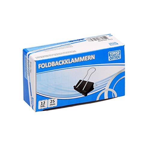 TTO Foldbackklammern 25mm, 12/1