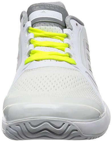 adidas Herren Barricade 2017 Tennisschuhe Weiß (Ftwr White/universe/solar Red)