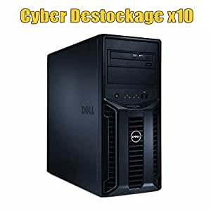 Serveur Pro DELL PowerEdge T110 Xeon Quad Core X3430 2.40Ghz 4Go DDR3 146Go SAS