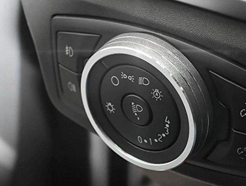 Emblem Trading Emblem Lichtschalter Alu Ring Silber Autozubehör